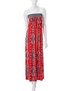 Trixxi Billowed Top Maxi Dress