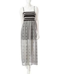 Trixxi Smocked Maxi Dress