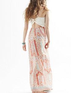 Trixxi Crochet Bodice Maxi Dress