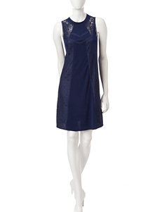 Signature Studio Navy Everyday & Casual Shift Dresses