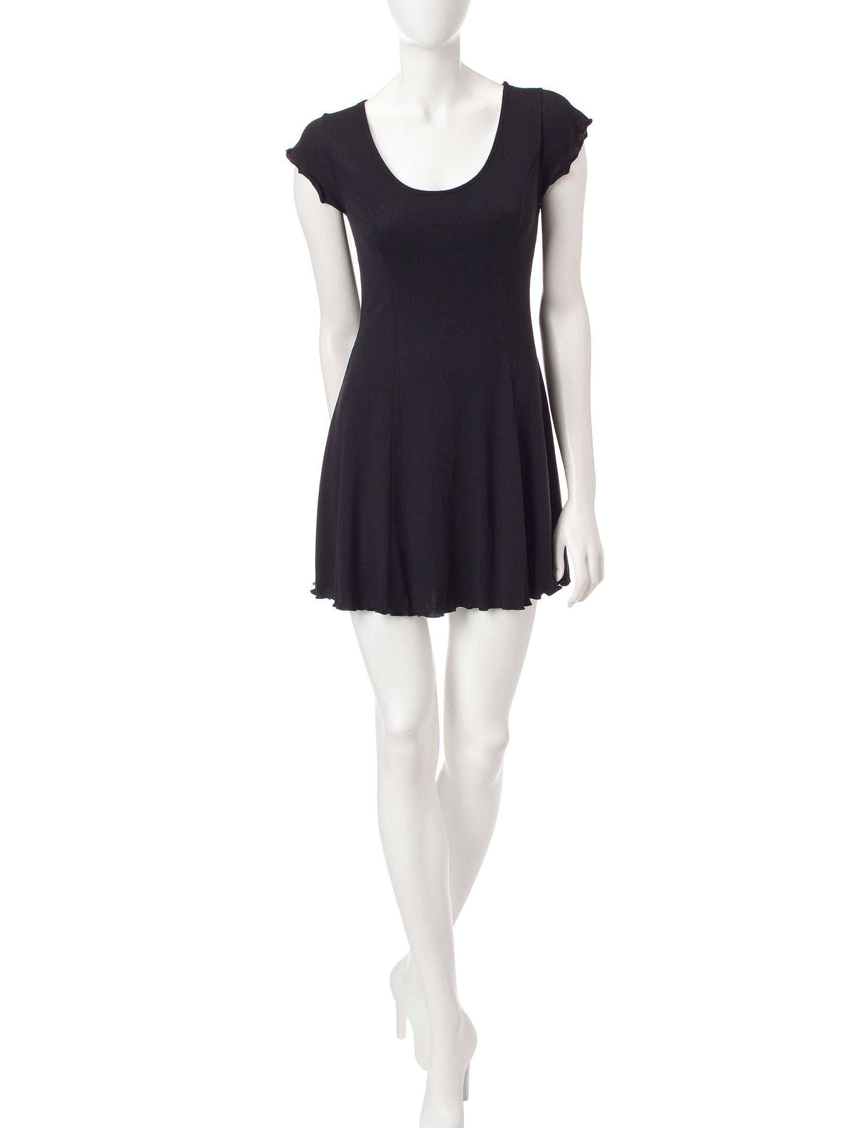 Fire Black Everyday & Casual Shirt Dresses