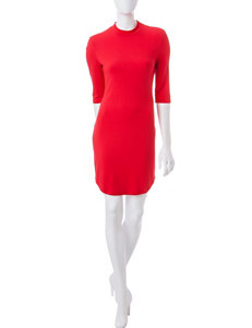 Wishful Park Red Everyday & Casual Sheath Dresses