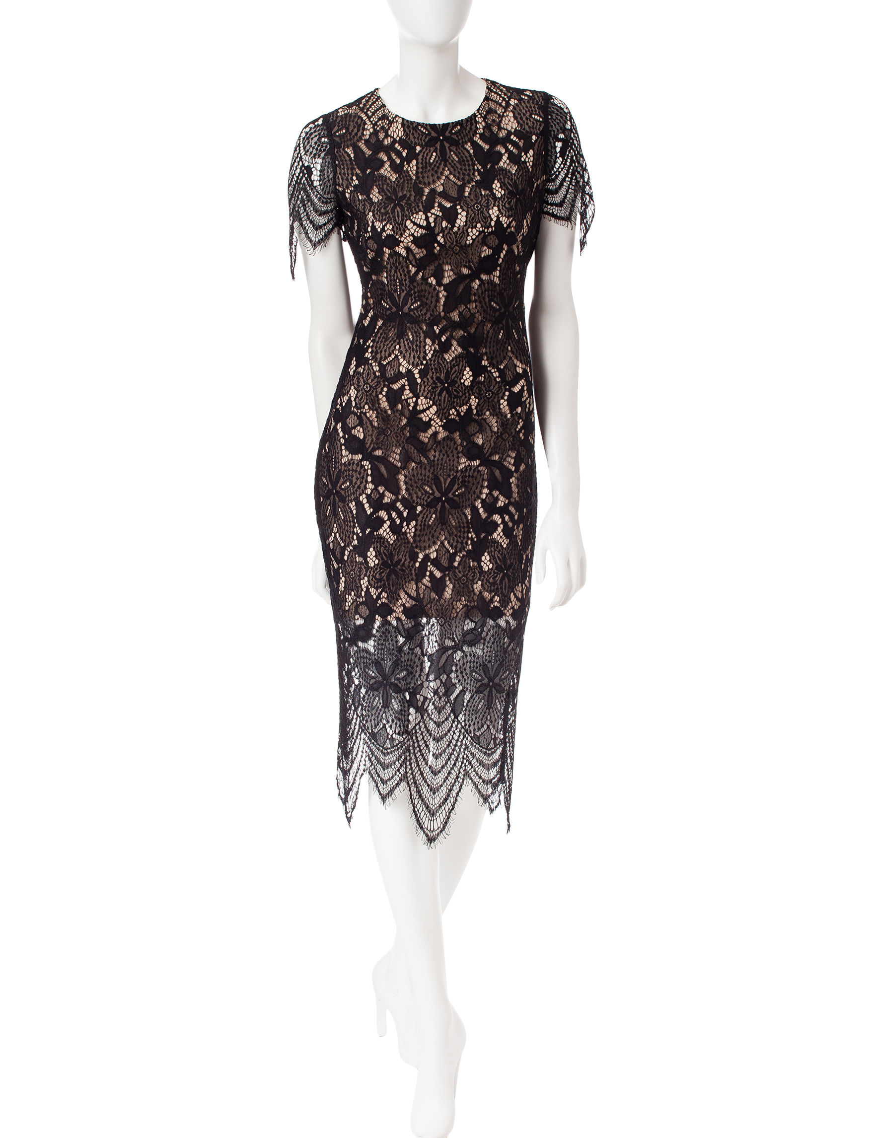 Fire Black Everyday & Casual Sheath Dresses