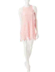Speechless Pink Everyday & Casual Shift Dresses