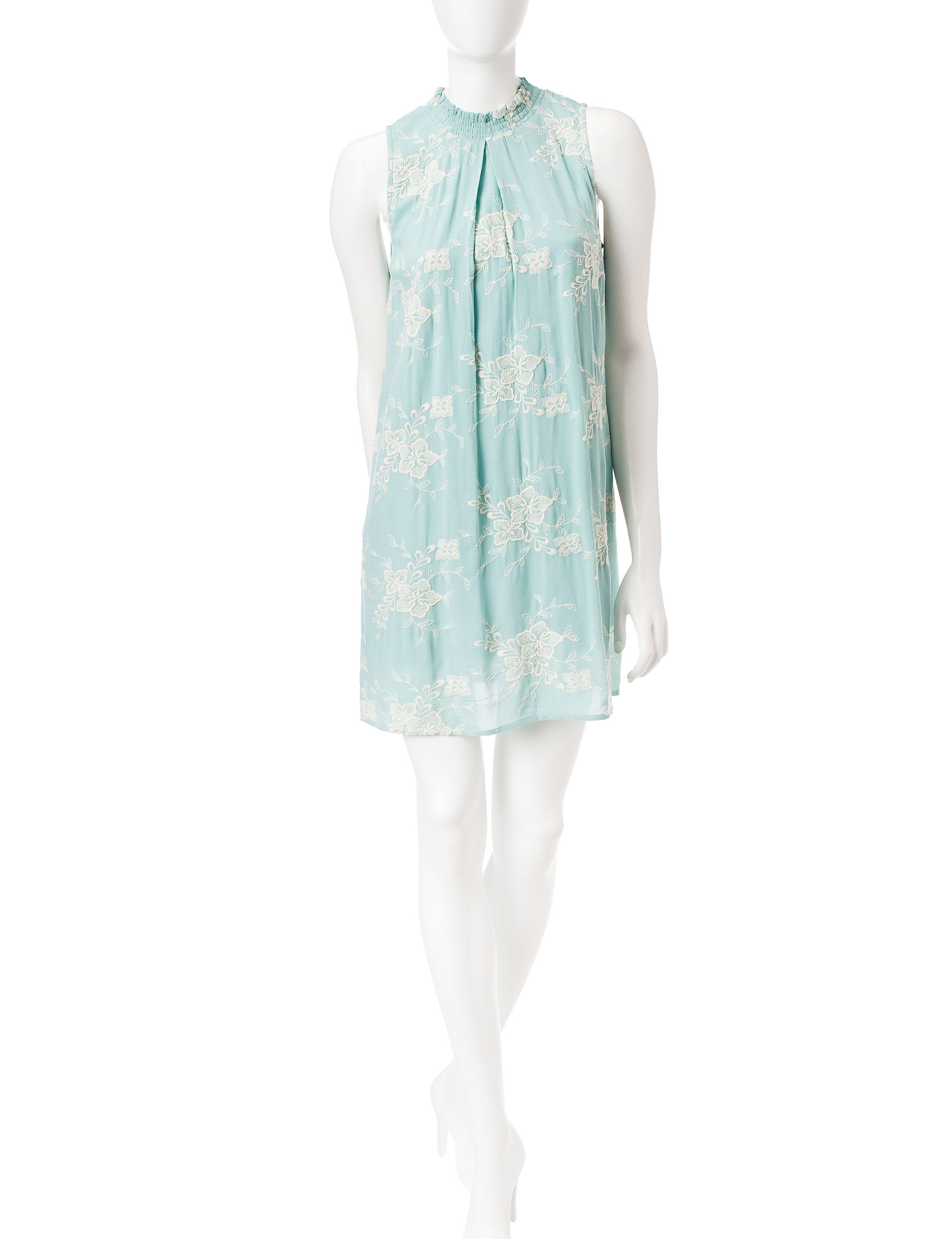Speechless Green Everyday & Casual Shift Dresses