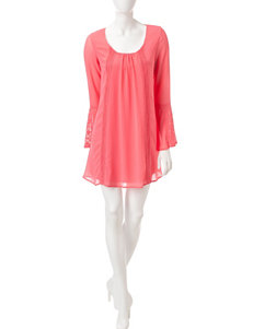 My Michelle Pink Everyday & Casual Shift Dresses