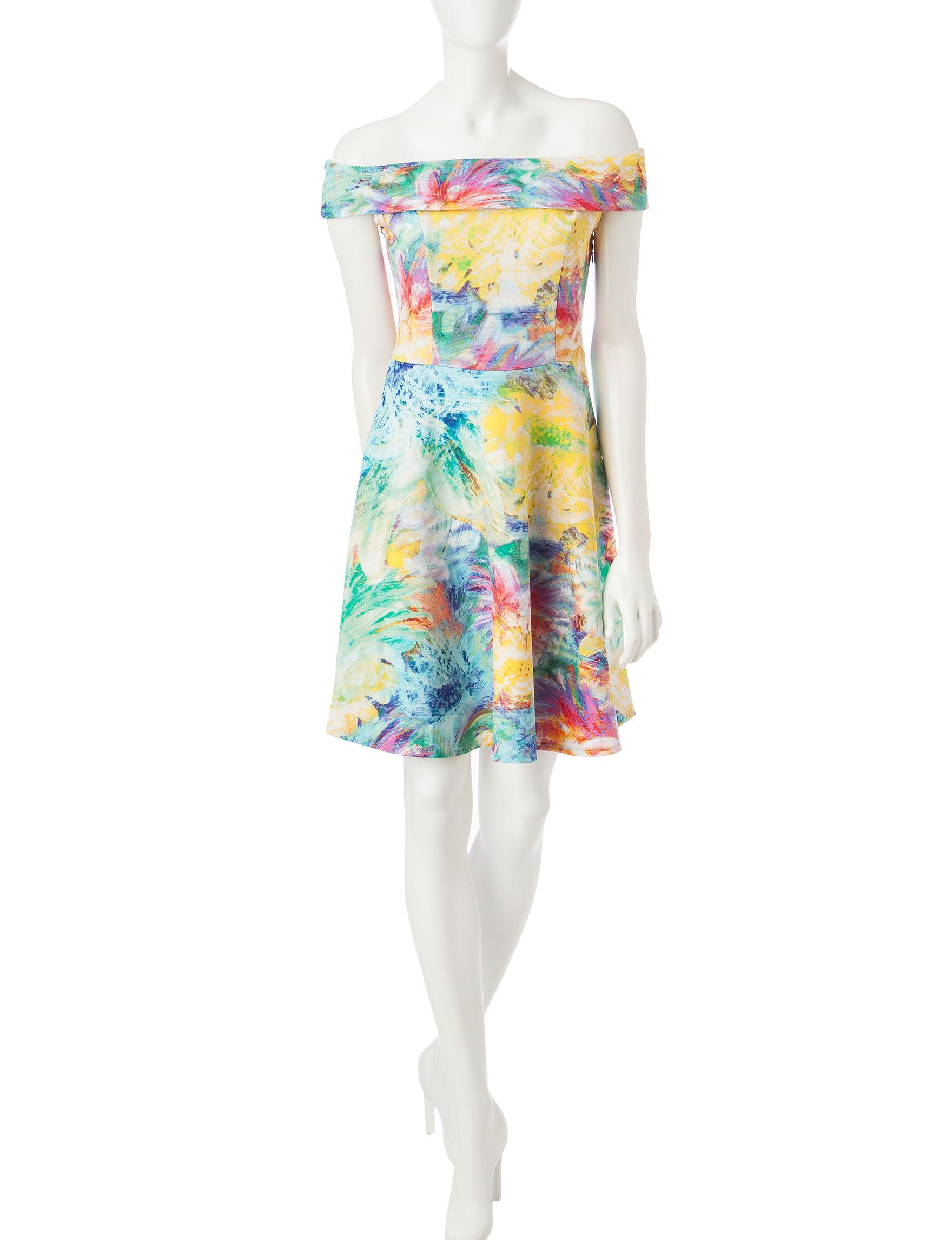 Spense Multi Everyday & Casual A-line Dresses
