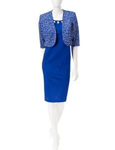 Dana Kay Blue Everyday & Casual Jacket Dresses