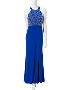 Morgan & Co. Royal Blue / White Evening & Formal