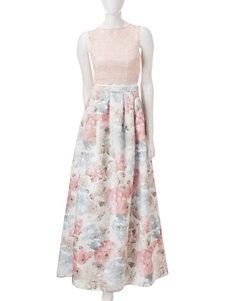 Morgan & Co. 2-pc. Lace Top & Skirt Set