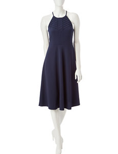 Spense Navy Everyday & Casual A-line Dresses