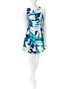 Madison Leigh Navy Everyday & Casual A-line Dresses