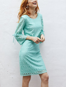 Madison Leigh Mint Everyday & Casual Shift Dresses