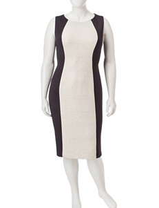 R & M Richards Grey Evening & Formal Sheath Dresses