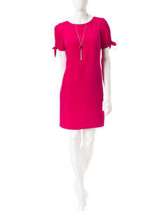 A. Byer Pink Everyday & Casual Shift Dresses