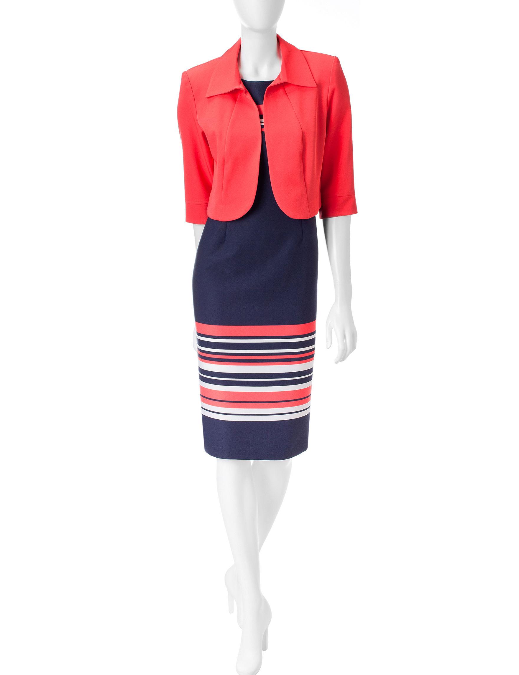 Dana Kay Navy Everyday & Casual Jacket Dresses
