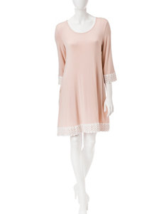 Lennie Crochet Trim Tunic Dress