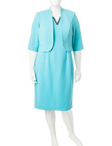 Dana Kay Blue Everyday & Casual Jacket Dresses