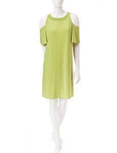 Nine West Green Everyday & Casual Shift Dresses