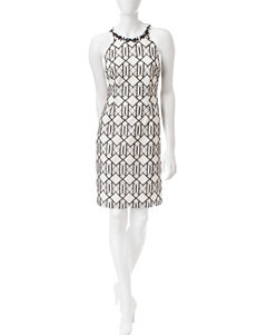 Nine West White Everyday & Casual A-line Dresses