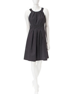 Nine West Black Everyday & Casual A-line Dresses