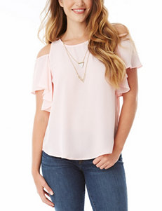 A. Byer Pink Shirts & Blouses