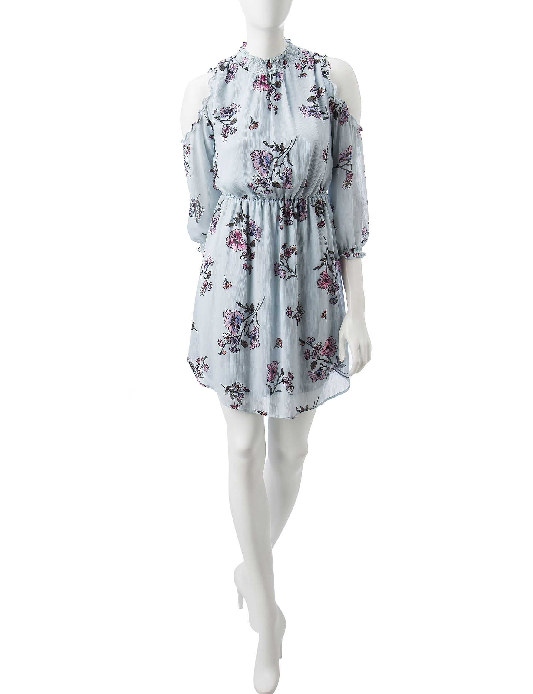 Signature Studio Floral Everyday & Casual Fit & Flare Dresses