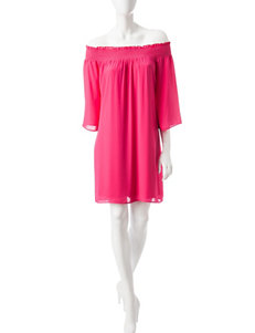 Signature Studio Pink Everyday & Casual Shift Dresses