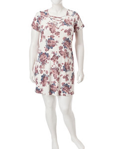 Fire Floral Everyday & Casual Shirt Dresses