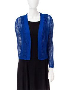 Lennie Blue Shrugs Sweaters