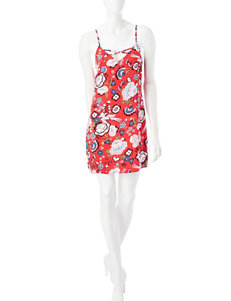 Fire Red Everyday & Casual Shift Dresses Sundresses