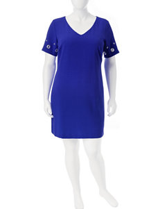 Sangria Blue Everyday & Casual Shift Dresses