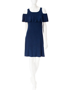 Signature Studio Blue Everyday & Casual Shift Dresses