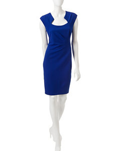 Connected Blue Everyday & Casual Sheath Dresses