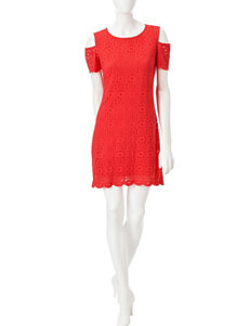 Ronni Nicole Coral Everyday & Casual A-line Dresses