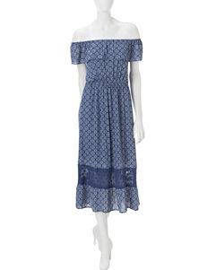 Wishful Park Off-the-Shoulder Maxi Dress