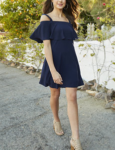 Robbie Bee Navy Everyday & Casual Shift Dresses