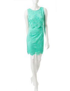Madison Leigh Seafoam Everyday & Casual Sheath Dresses