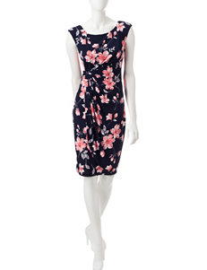 Connected Pink Everyday & Casual Sheath Dresses