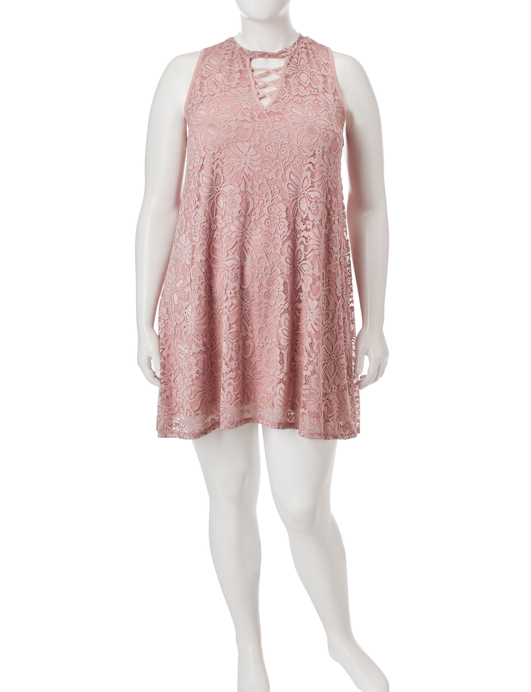 Liberty Love Pink Cocktail & Party Everyday & Casual Shift Dresses