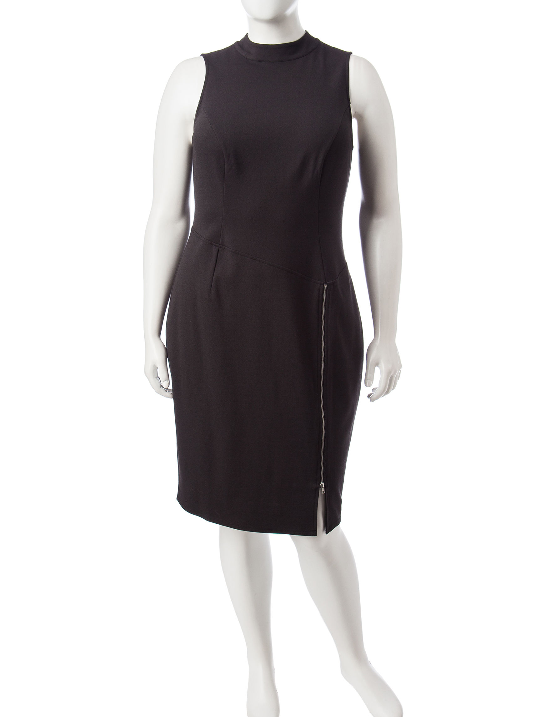Paper Doll Black Cocktail & Party Everyday & Casual Sheath Dresses