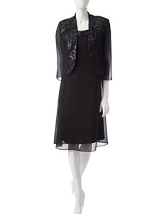 Dana Kay Black Evening & Formal Jacket Dresses