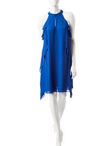 Nine West Blue Everyday & Casual A-line Dresses