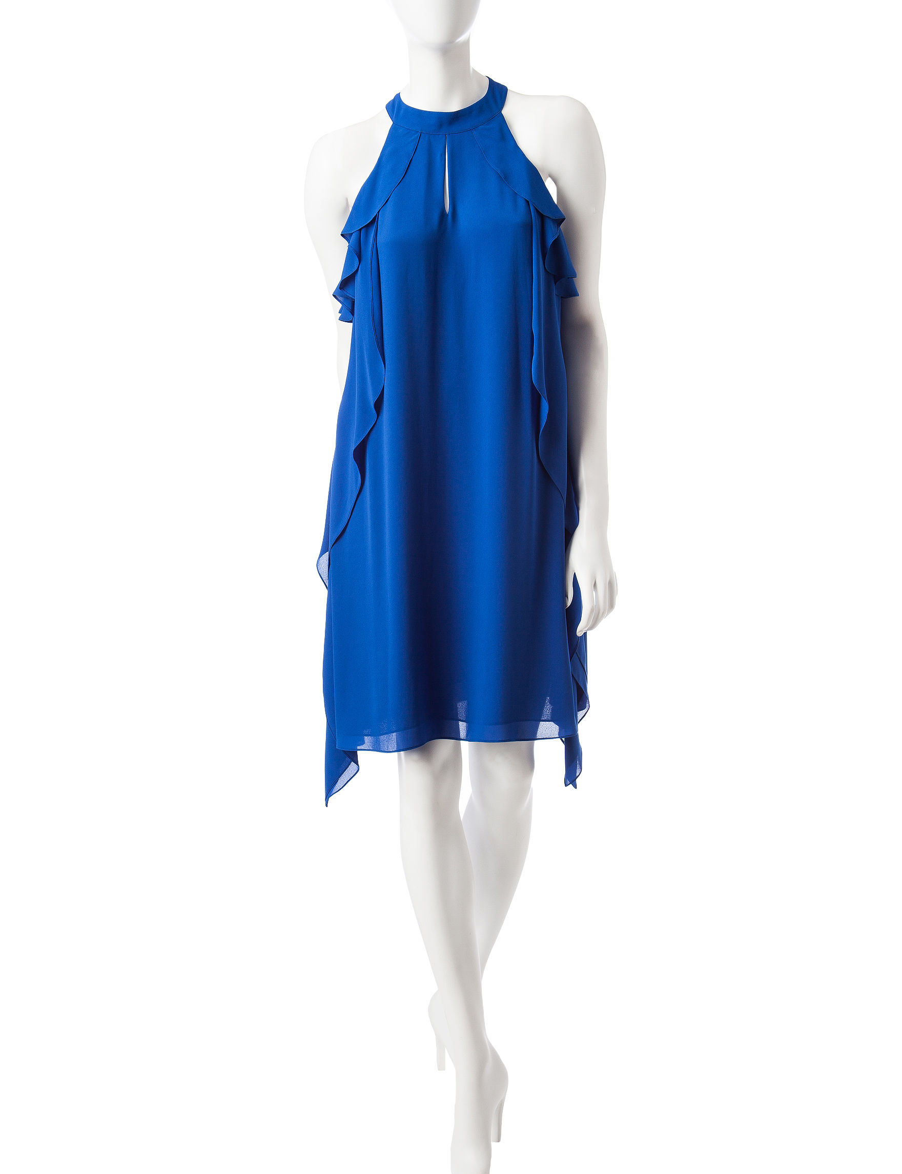 Nine West Blue Everyday & Casual A-line Dresses