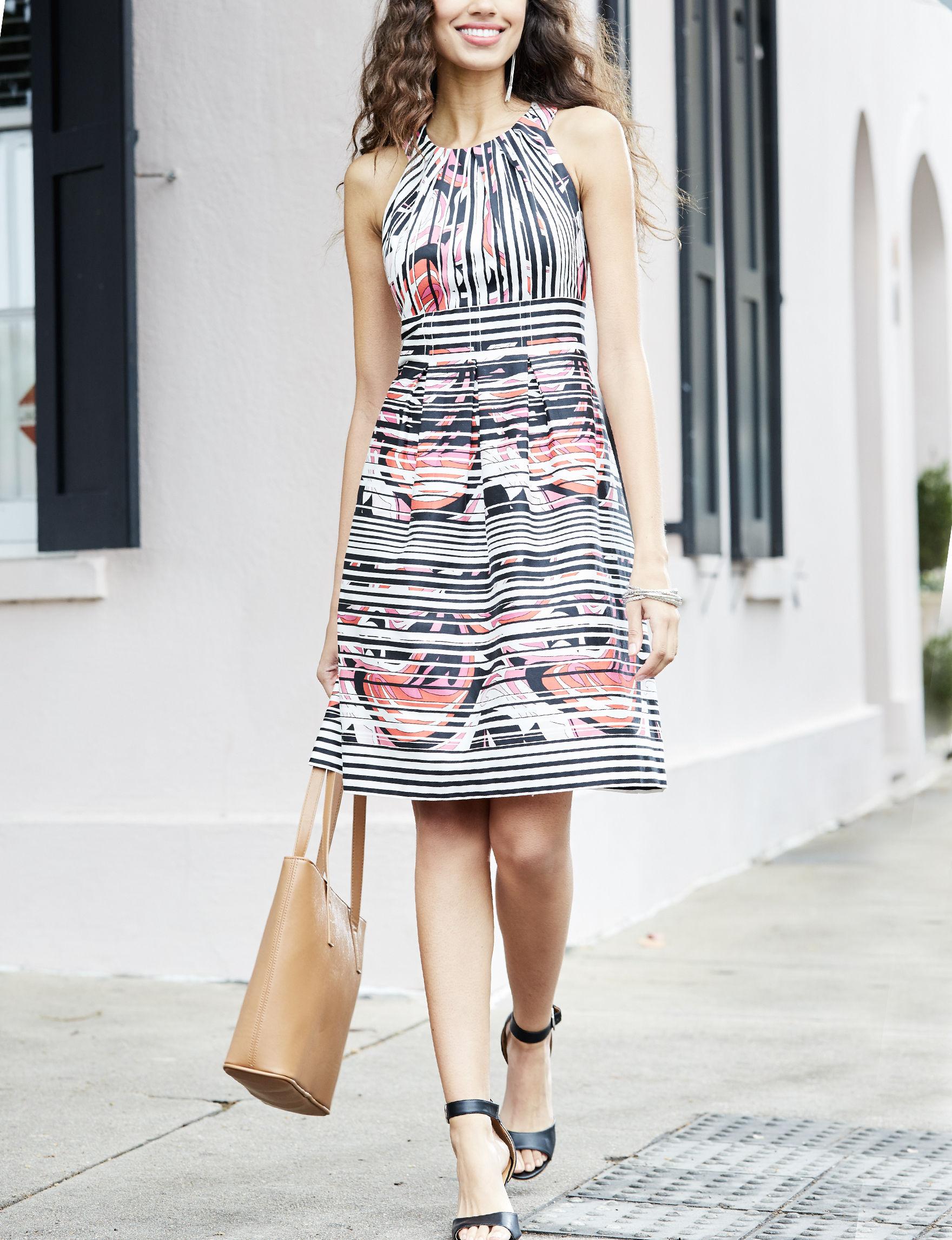 Nine West Pink Everyday & Casual Sheath Dresses