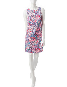 Nine West Pink Everyday & Casual Shift Dresses