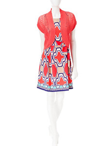Robbie Bee Coral Everyday & Casual Jacket Dresses