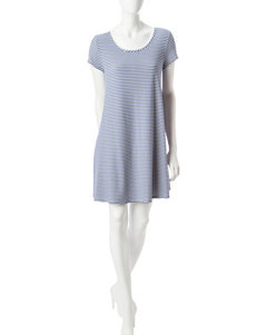 Ronni Nicole Blue / White Everyday & Casual