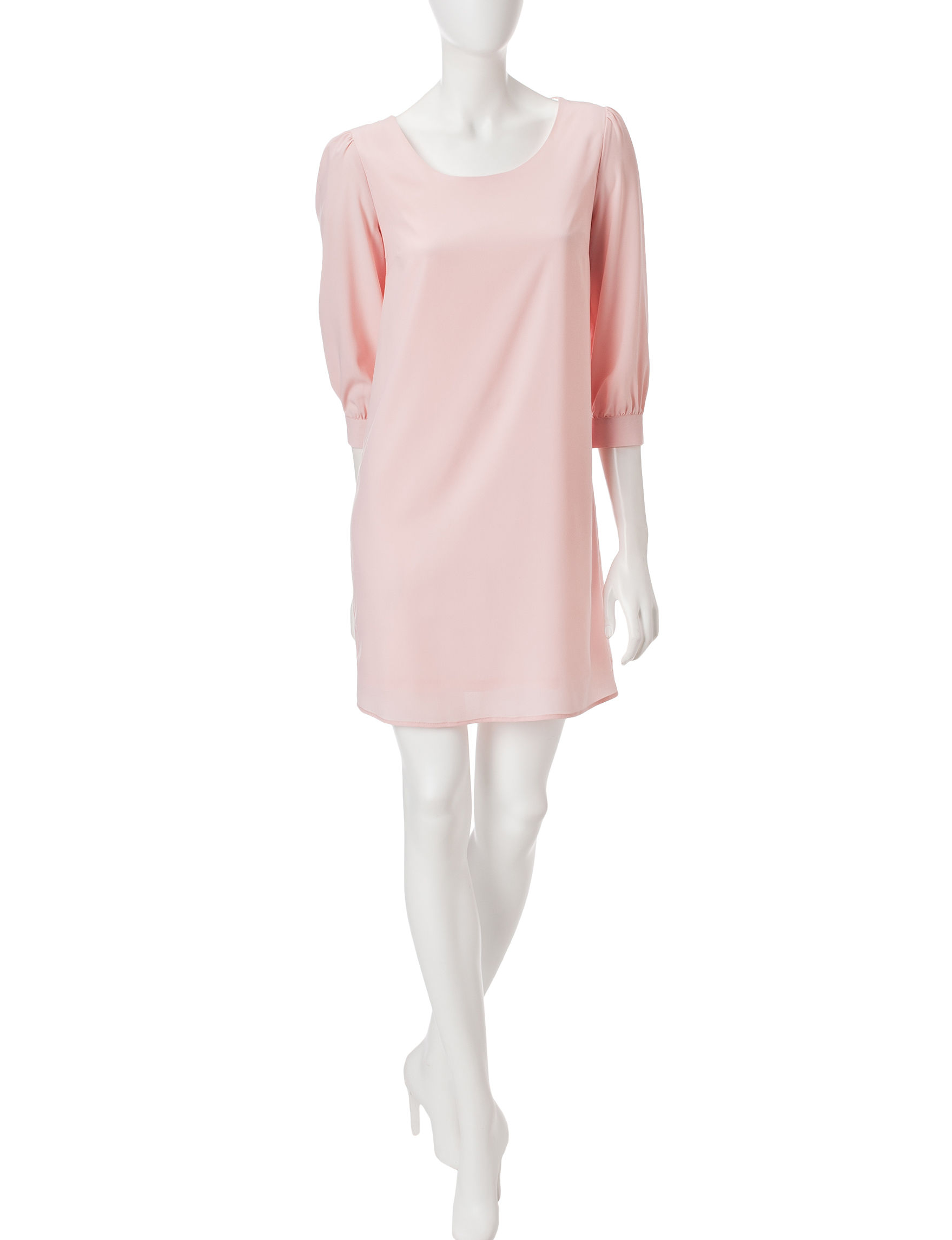 JM Studio Pink Everyday & Casual Shift Dresses