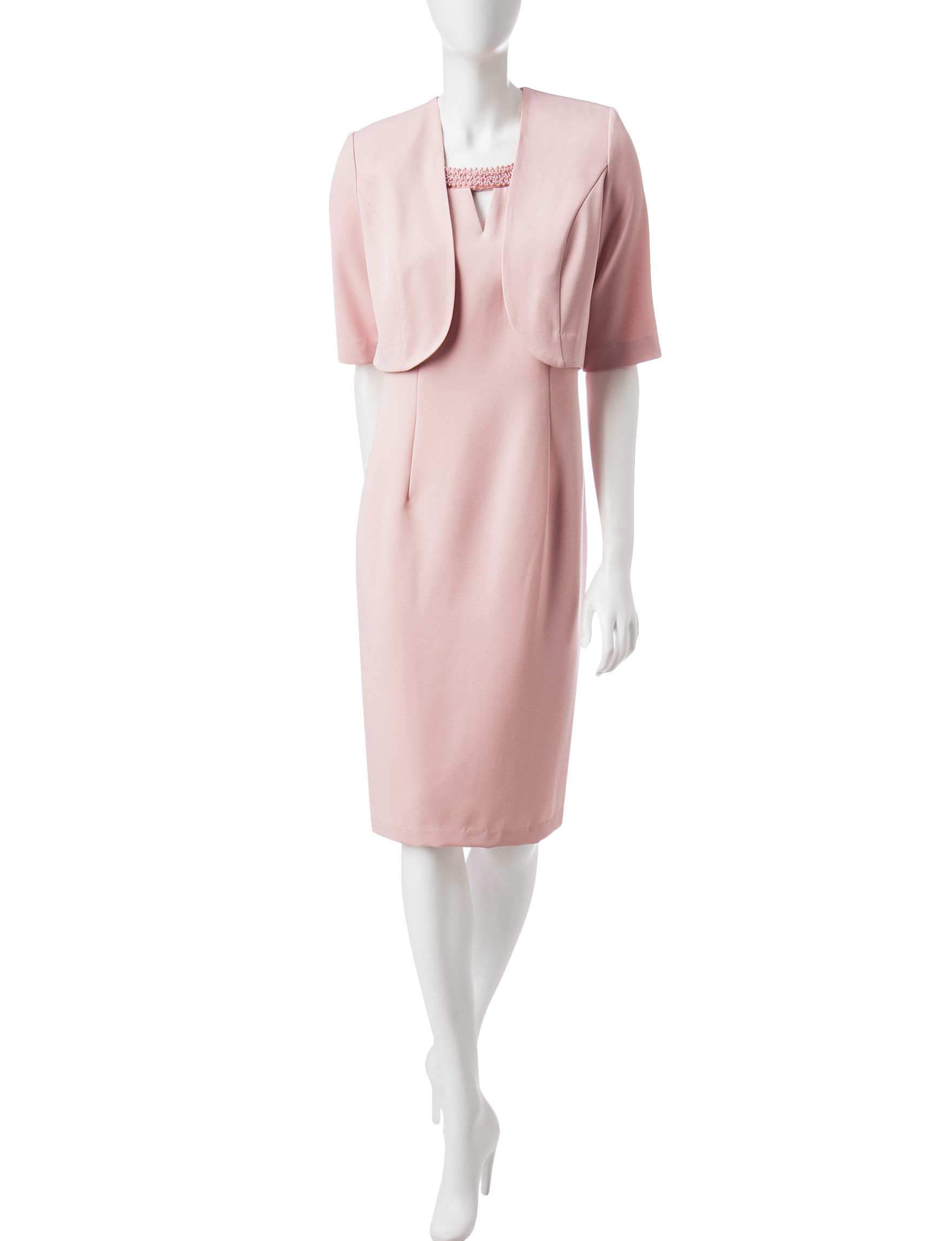 Dana Kay Blush Everyday & Casual Jacket Dresses